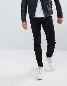Черные джинсы узкого кроя WeSC Alessandro - Черный