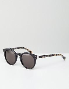 Солнцезащитные очки в круглой оправе Marc By Marc Jacobs - Черный