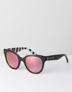 Черные круглые солнцезащитные очки Marc Jacobs 231/S - Черный