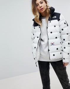 Дутая куртка в горошек The North Face International - Мульти