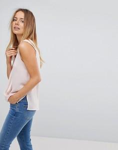 Блузка без рукавов с запахом Vero Moda - Розовый