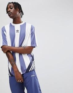 Серая оversize-футболка в стиле ретро adidas Originals Nova CE4800 - Серый