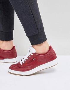 Красные кроссовки Reebok Club C 85 Essential CM8792 - Красный
