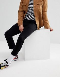Черные укороченные джинсы скинни ASOS - Черный
