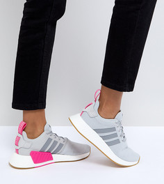 Серые кроссовки adidas Originals NMD R2 - Черный