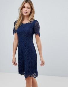 Кружевное платье Sugarhill Boutique - Темно-синий