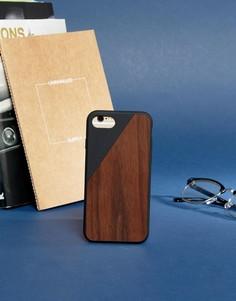 Деревянный чехол для iPhone 7 Native Union Premium - Мульти