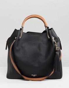 Черная сумка-хобо Dune Daura - Черный