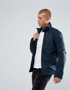 Дутая куртка в стиле милитари G-Star - Синий