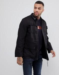 Куртка карго в стиле милитари G-Star - Черный