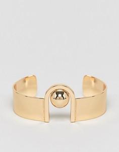 Броский браслет ASOS - Золотой