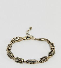 Браслет с драконом Reclaimed Vintage Inspired эксклюзивно для ASOS - Золотой