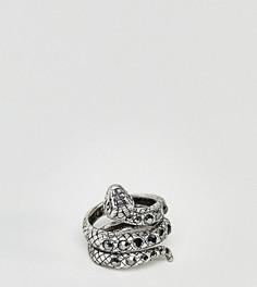 Серебристое кольцо Reclaimed Vintage Inspired эксклюзивно для ASOS - Серебряный