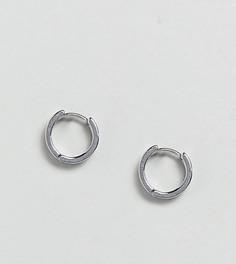 Cерьги-кольца Reclaimed Vintage Inspired эксклюзивно для ASOS - Серебряный
