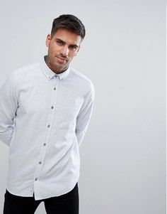 Серая фактурная рубашка HUGO - Серый