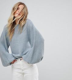 Джемпер ручной вязки OneOn - Синий