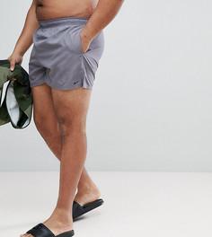 Серые короткие шорты для плавания Nike Plus Volley NESS8830-071 - Серый
