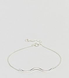 Серебряный фактурный браслет ASOS - Серебряный