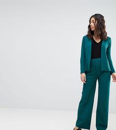 Широкие брюки Boohoo Petite - Зеленый