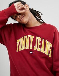 Красный свитшот Tommy Jeans Collegiate Capsule - Красный Hilfiger Denim