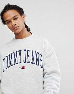 Серый свитшот Tommy Jeans Collegiate Capsule - Серый Hilfiger Denim