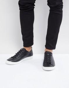 Черные кожаные кроссовки PS Paul Smith Miyata - Черный