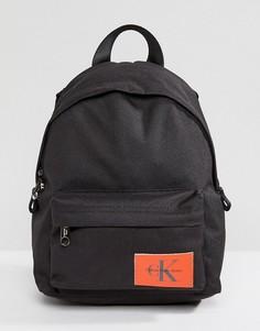 Маленький рюкзак с логотипом Calvin Klein Jeans - Черный
