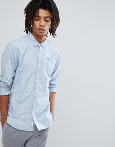 Синяя рубашка классического кроя с логотипом Tommy Jeans End on End - Синий Hilfiger Denim
