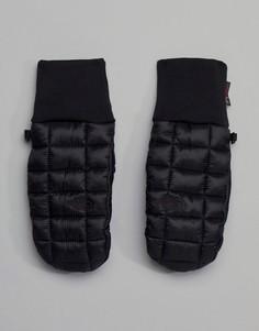 Черные варежки North Face Thermoball - Черный