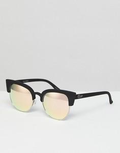 Солнцезащитные очки Quay Australia Avalon - Черный