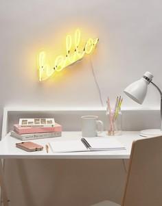 Неоновый светильник Hello Talking Tables - Мульти