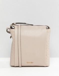 Плоская сумка через плечо Calvin Klein - Коричневый