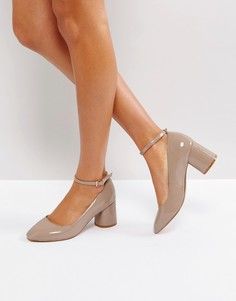 Туфли на каблуке ASOS SAMMIE - Бежевый