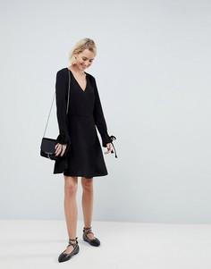 Платье с завязками на рукавах Pimkie - Черный