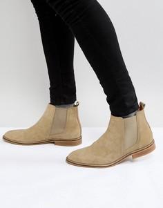 Светло-коричневые замшевые ботинки челси Good For Nothing - Рыжий