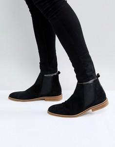 Черные замшевые ботинки челси Good For Nothing - Черный