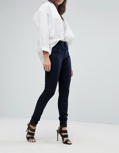 Супероблегающие джинсы с завышенной талией G-Star G-Heart - Черный