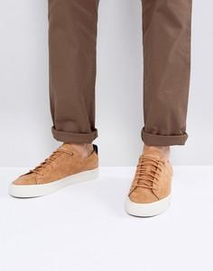 Светло-коричневые замшевые кроссовки Tommy Hilfiger Dino - Рыжий