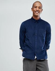 Рубашка классического кроя Dr Denim Rodrik - Темно-синий