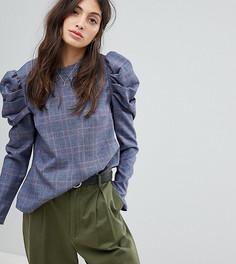 Блузка в клетку Reclaimed Vintage Inspired - Мульти