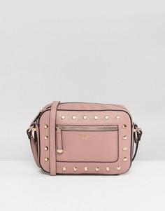 Сумка через плечо с заклепками Carvela Mia - Розовый