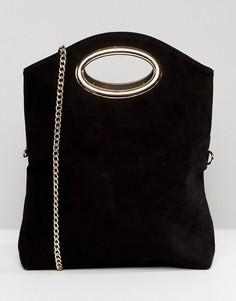Клатч со съемным ремешком Miss KG Thea - Черный