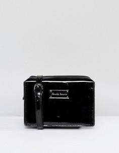 Лакированная сумка через плечо Claudia Canova - Черный