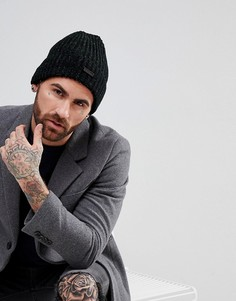 Меланжевая шапка-бини Ben Sherman - Серый
