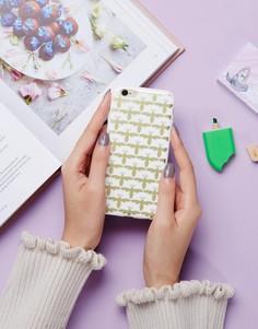 Чехол для Iphone 6 с принтом пчелы Signature - Золотой