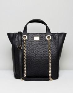 Большая сумка-тоут Marc B - Черный