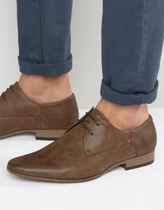 Коричневые строгие туфли из искусственной кожи River Island - Коричневый