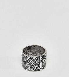 Массивное кольцо с крестом Reclaimed Vintage Inspired эксклюзивно для ASOS - Серебряный