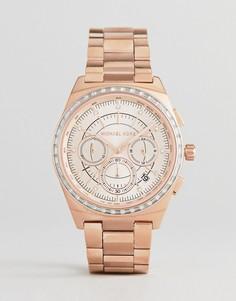Золотистые часы из нержавеющей стали Michael Kors MK6422 - Золотой