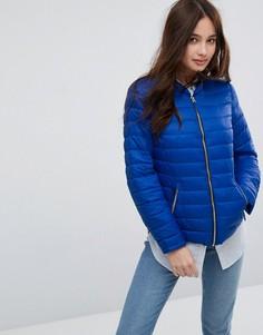 Легкая дутая куртка без воротника Pimkie - Синий